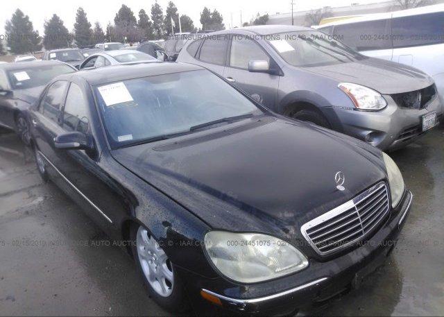 Inventory #492153806 2002 Mercedes-benz S