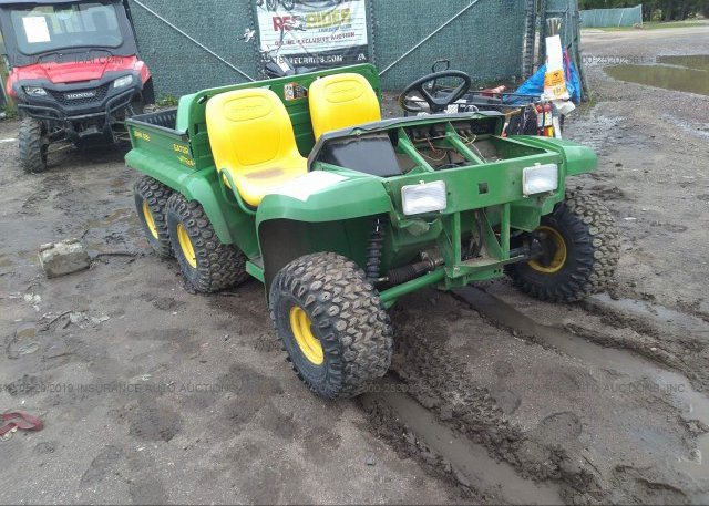 Bidding Ended On W006x4x049122 Salvage John Deere Gator At Sioux