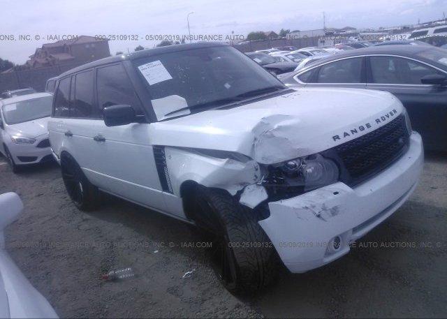 Inventory #141912960 2011 Land Rover RANGE ROVER