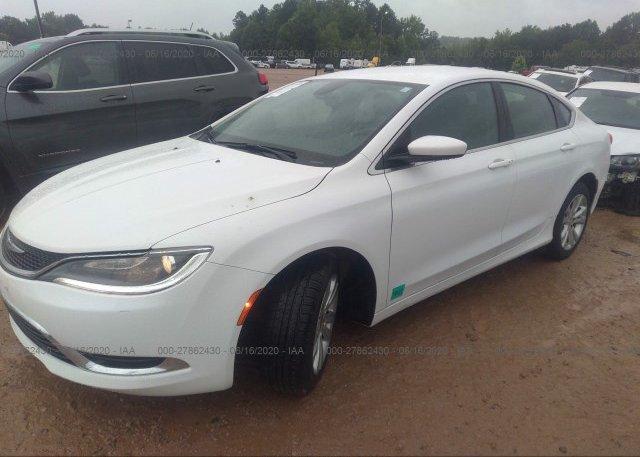 из сша 2015 Chrysler 200 1C3CCCABXFN634924
