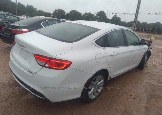 цена в сша 2015 Chrysler 200 1C3CCCABXFN634924