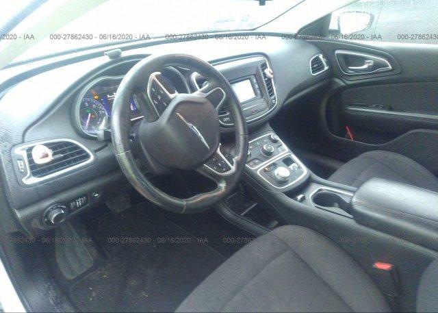 пригнать из сша 2015 Chrysler 200 1C3CCCABXFN634924