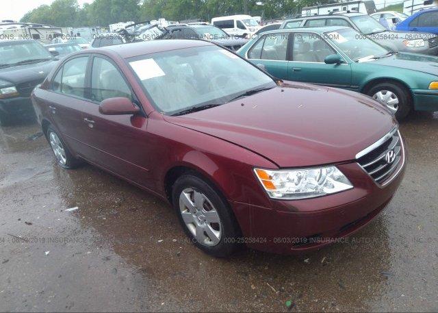 Inventory #886680177 2009 Hyundai SONATA