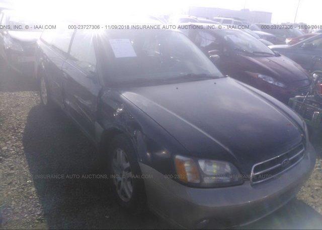 Inventory #646359707 2002 Subaru LEGACY
