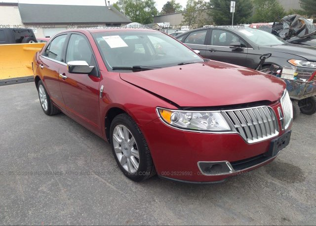 Inventory #647628343 2012 Lincoln MKZ