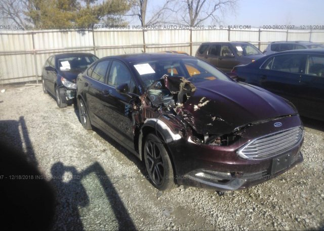 Inventory #908087664 2017 FORD FUSION