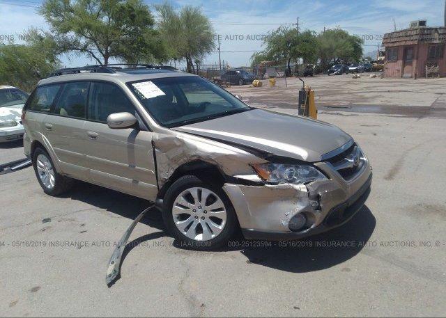 Inventory #662859455 2008 Subaru OUTBACK