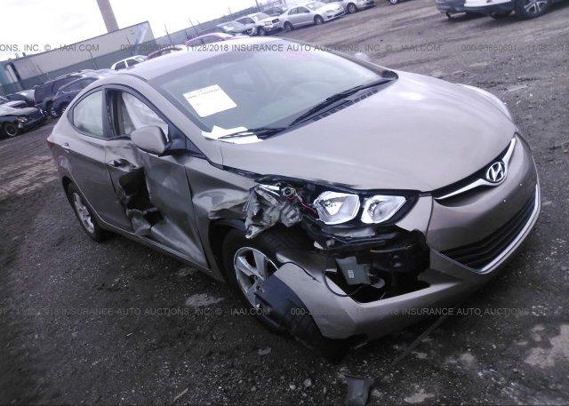 Inventory #265507158 2015 Hyundai ELANTRA