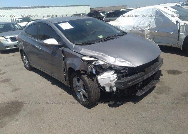 Inventory #514326923 2013 Hyundai ELANTRA