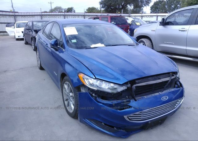 Inventory #586406966 2017 FORD FUSION