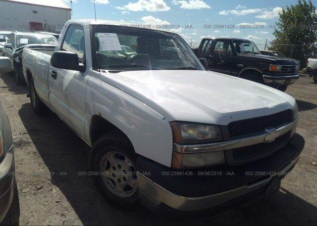 Inventory #484725546 2003 Chevrolet SILVERADO