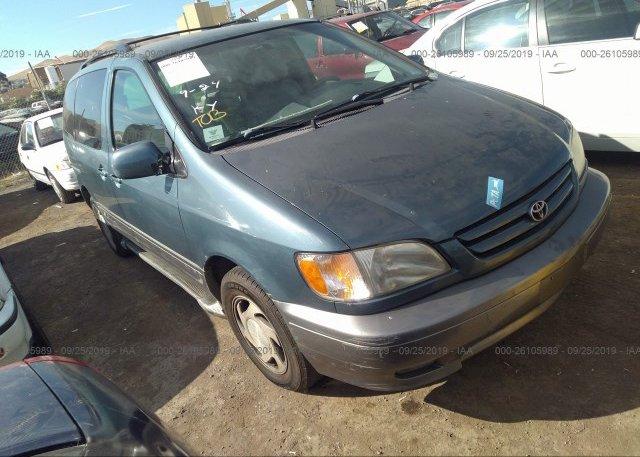 Inventory #491491547 2003 Toyota SIENNA