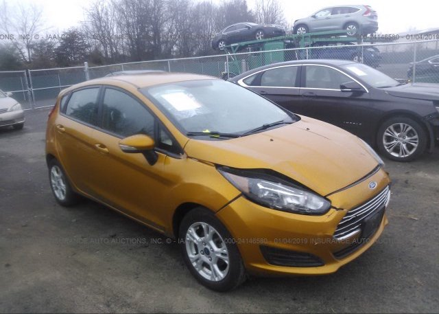 Inventory #256912592 2016 FORD FIESTA