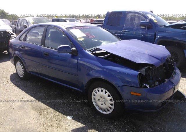 Inventory #565822901 2004 Suzuki FORENZA
