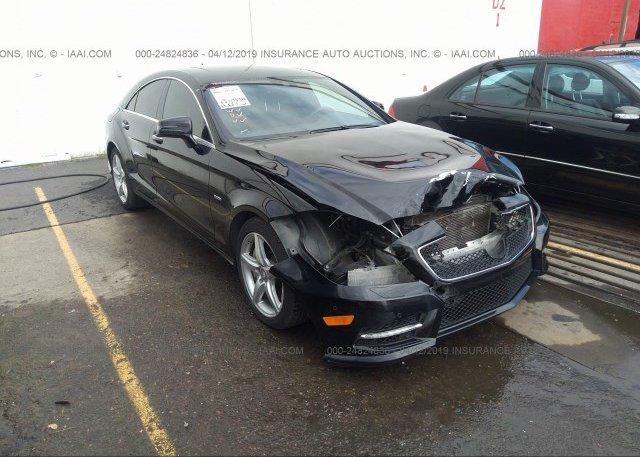Inventory #755830150 2012 Mercedes-benz CLS