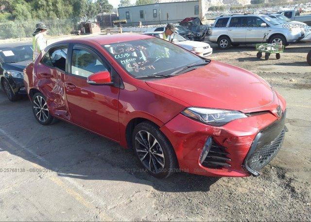 Inventory #567895194 2017 Toyota COROLLA