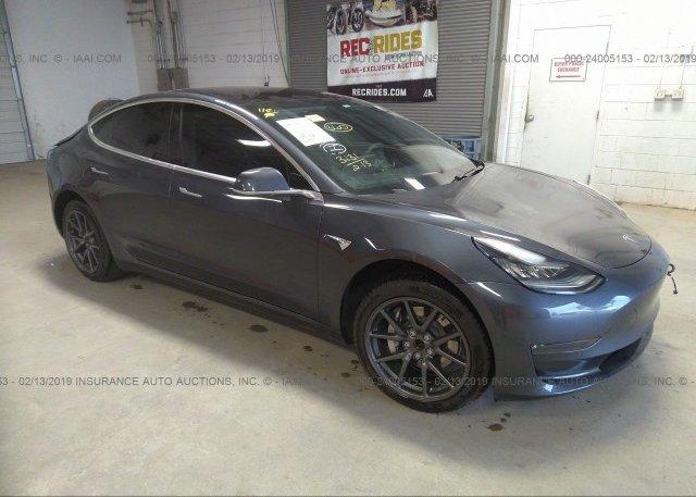 Inventory #984955619 2018 Tesla MODEL 3