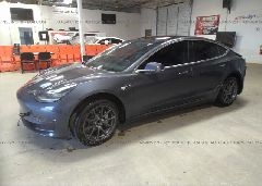 2018 Tesla MODEL 3 - 5YJ3E1EA1JF030598 Right View