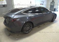 2018 Tesla MODEL 3 - 5YJ3E1EA1JF030598 rear view