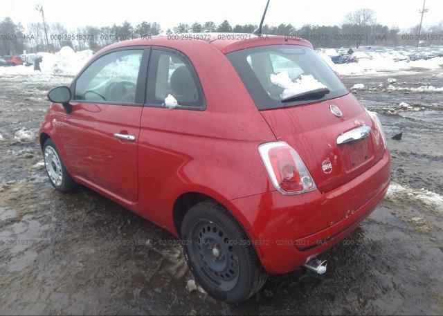 купить 2012 FIAT 500 3C3CFFAR5CT237798