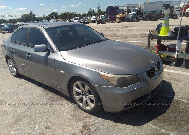 Inventory #127535040 2005 BMW 545