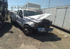 2007 FORD F350 - 1FDWX36P27EB06504 Left View
