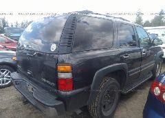 2004 Chevrolet TAHOE - 1GNEK13Z14J323304 rear view
