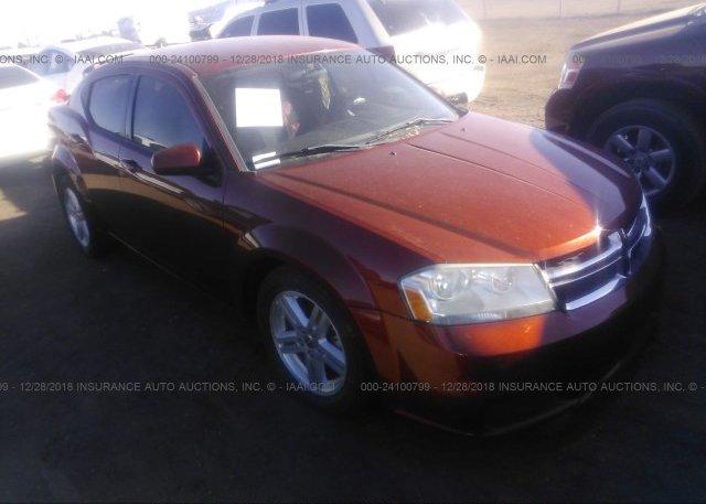 Inventory #833550761 2012 DODGE AVENGER