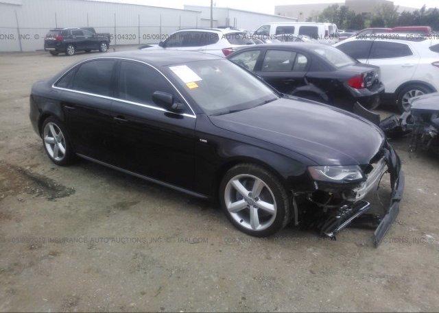 Inventory #349486130 2012 AUDI A4