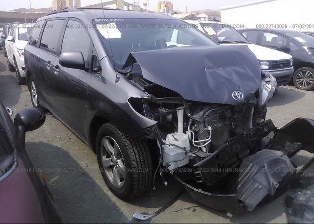 Inventory #641322552 2012 Toyota SIENNA