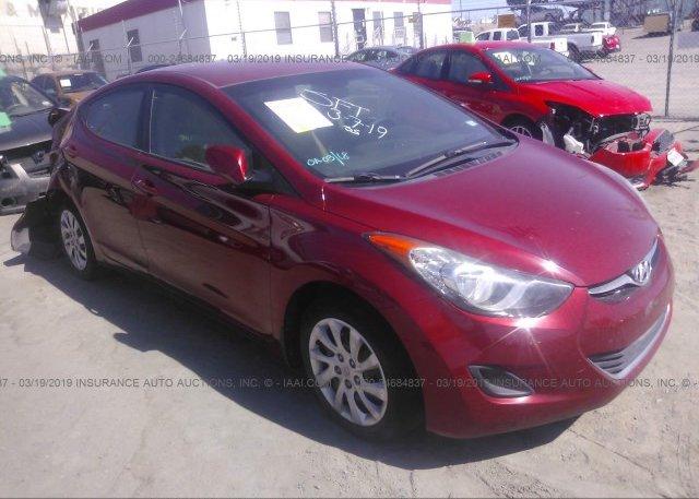 Inventory #416217844 2013 Hyundai ELANTRA