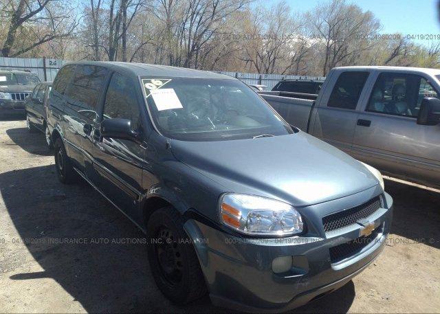 Inventory #362342345 2006 Chevrolet UPLANDER