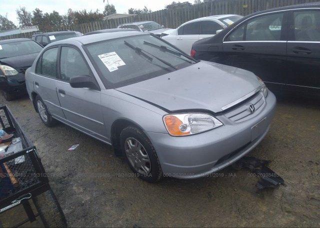 Inventory #857885143 2001 Honda CIVIC