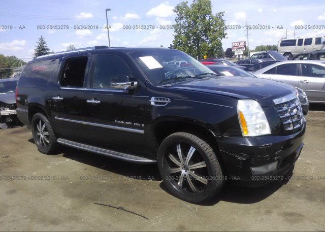 1GYFK16249R240934, Salvage Title black Cadillac Escalade at