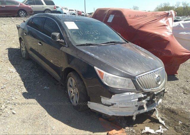 Inventory #162555615 2010 Buick LACROSSE