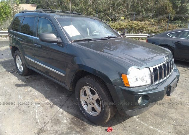 Inventory #914053214 2005 JEEP GRAND CHEROKEE