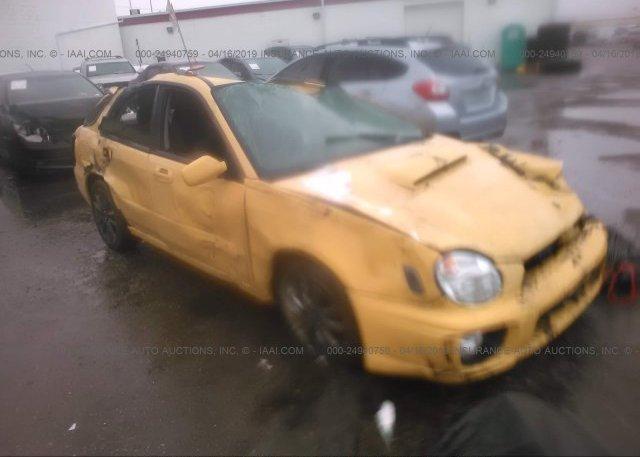 Inventory #496372644 2003 Subaru IMPREZA