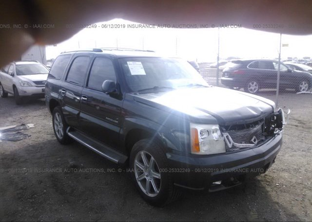 1GYEK63N12R110803, Salvage green Cadillac Escalade at