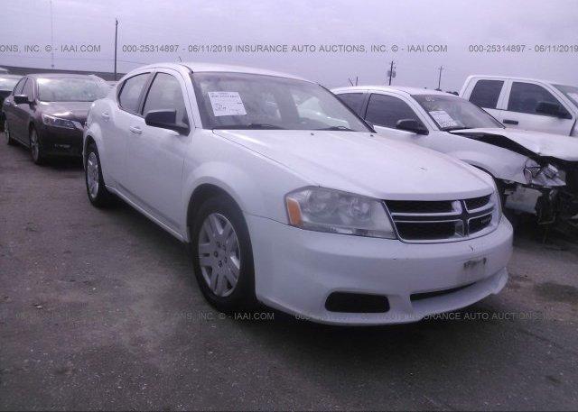 Inventory #674105577 2012 Dodge AVENGER