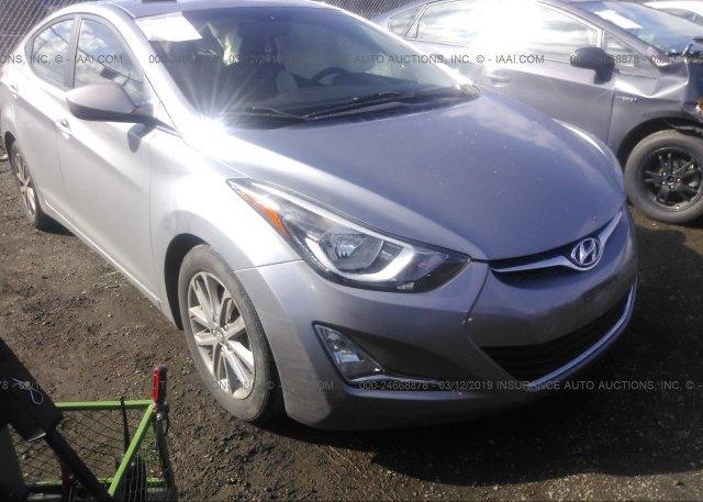Inventory #792413348 2014 Hyundai ELANTRA