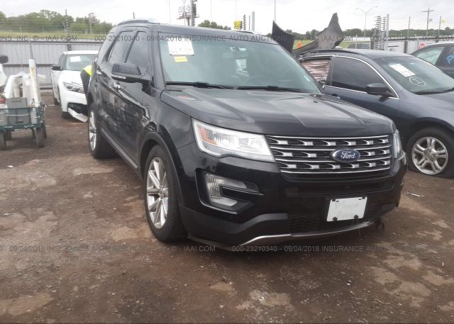 Inventory #500830470 2016 FORD EXPLORER