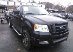 2005 FORD F150 - 1FTRX14W85FA56974 Left View