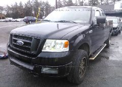 2005 FORD F150 - 1FTRX14W85FA56974 Right View