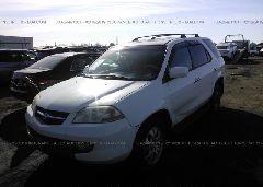 2003 Acura MDX - 2HNYD18843H512099 Right View