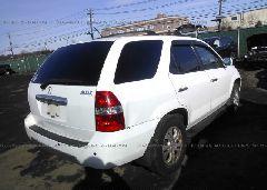 2003 Acura MDX - 2HNYD18843H512099 rear view