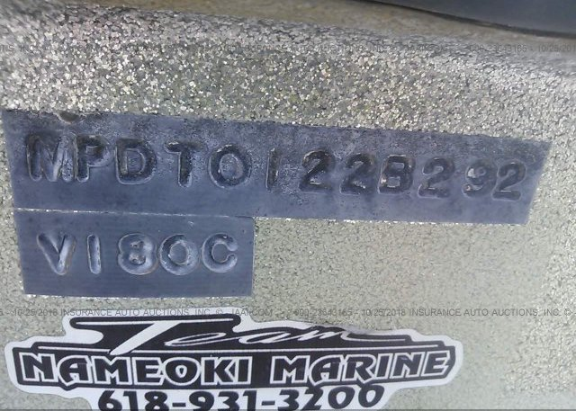 1992 PROCRAFT FISHING - MPDT0122B292
