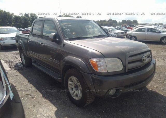 Inventory #483257899 2005 Toyota TUNDRA