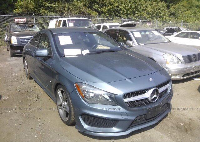 Inventory #885721718 2014 Mercedes-benz CLA
