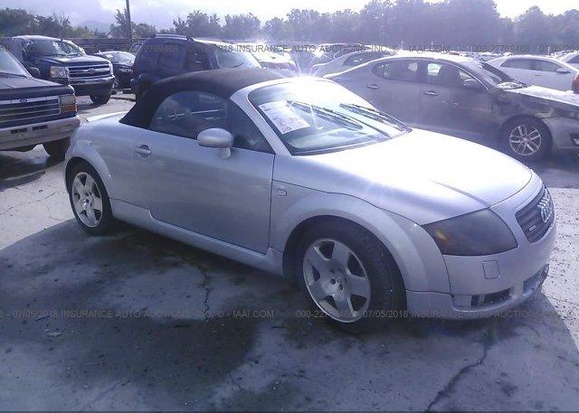 Inventory #325374418 2001 AUDI TT