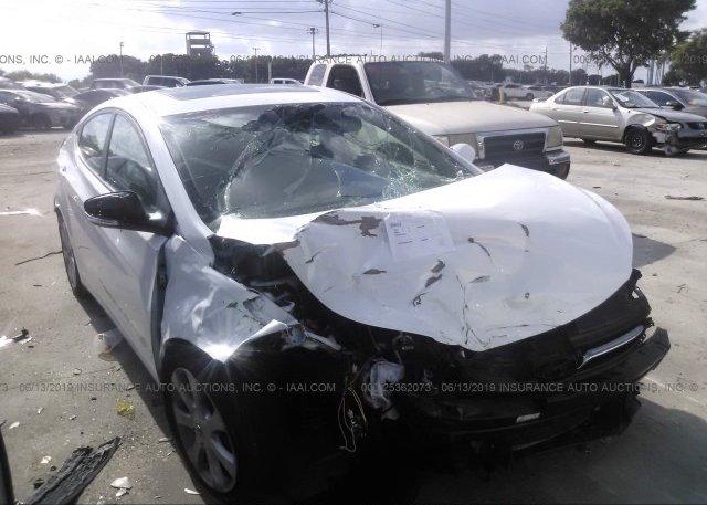 Inventory #373056873 2013 Hyundai ELANTRA